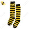 جوراب زیر زانو راه راه زنبوری کد ۱۰۳۱