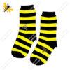 جوراب ساقدار راه راه زنبوری کد ۱۰۳۵