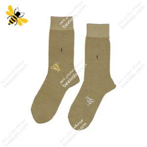 جوراب ساقدار مردانه رنگ بدن کد ۱۰۵۵