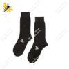 جوراب ساقدار مردانه قهوهای کد ۱۰۵۸