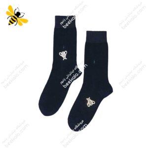 جوراب ساقدار مردانه سرمهای کد ۱۰۶۲