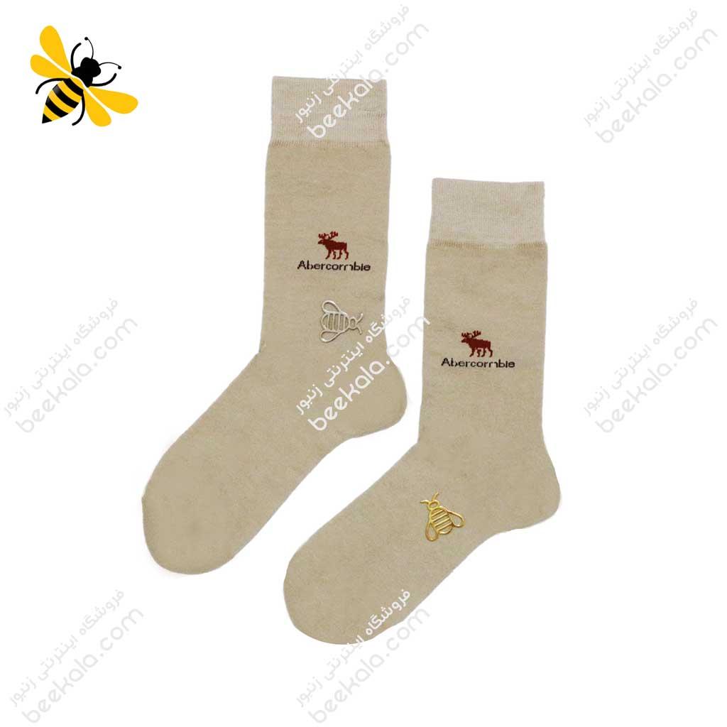 جوراب ساقدار مردانه رنگ بدن کد 1067