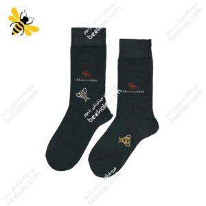 جوراب ساقدار مردانه ذغالی کد ۱۰۶۹