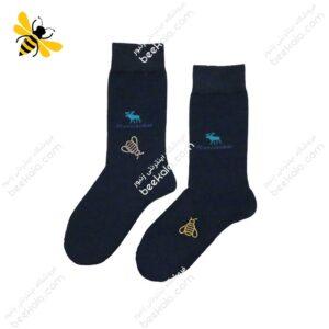 جوراب ساقدار مردانه سرمهای کد 1070