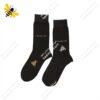 جوراب ساقدار مردانه قهوهای کد ۱۰۷۴