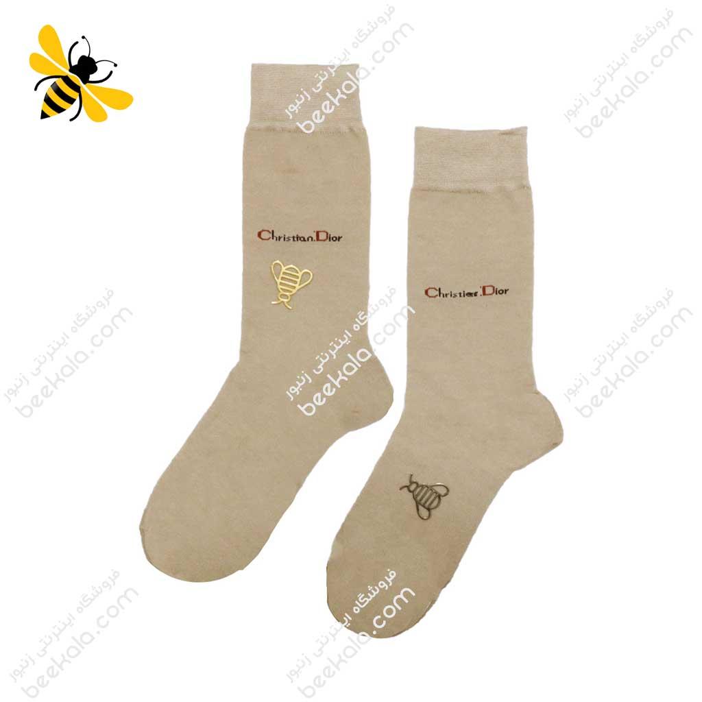 جوراب ساقدار مردانه رنگ بدن کد 1079