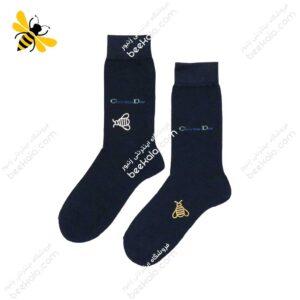 جوراب ساقدار مردانه سرمهای کد 1080