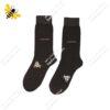 جوراب ساقدار مردانه قهوهای کد ۱۰۸۲