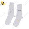 جوراب ساقدار مردانه سفید کد ۱۰۸۶