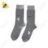 جوراب ساقدار مردانه خاکستری کد ۱۰۸۸