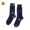 جوراب ساقدار مردانه سرمهای کد ۱۰۸۹