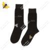 جوراب ساقدار مردانه قهوهای کد ۱۰۹۱