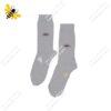 جوراب ساقدار مردانه سفید کد ۱۱۰۰