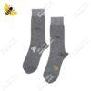 جوراب ساقدار مردانه خاکستری کد ۱۱۰۲
