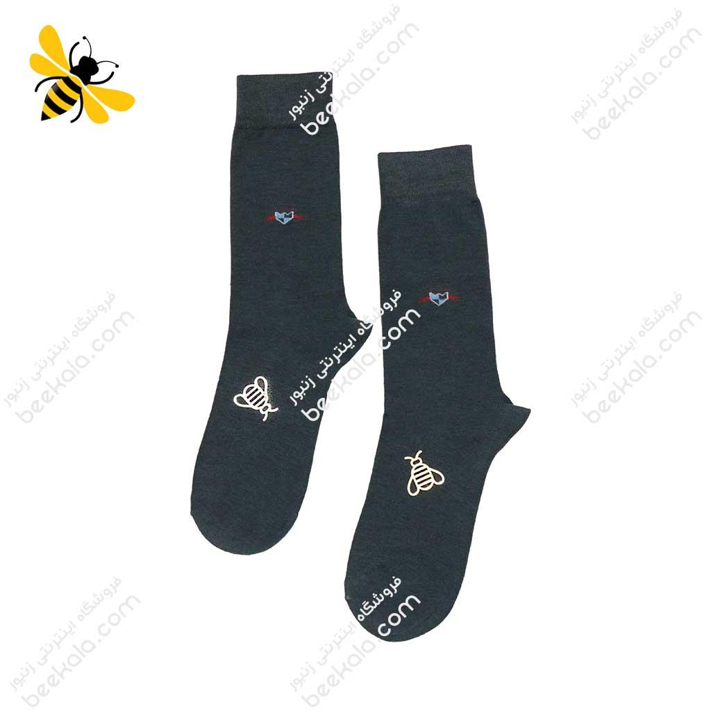 جوراب ساقدار مردانه یشمی کد 1103