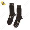 جوراب ساقدار مردانه قهوهای کد ۱۱۰۶