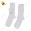 جوراب ساقدار مردانه سفید کد ۱۱۱۱