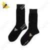 جوراب ساقدار مردانه مشکی کد ۱۱۱۲