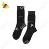 جوراب ساقدار مردانه خالدار نوک مدادی کد ۱۱۱۵