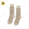 جوراب ساقدار مردانه راه راه نسکافهای کد ۱۱۲۶