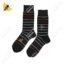 جوراب ساقدار مردانه راه راه نوک مدادی کد 1128