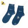 جوراب نیم ساق مردانه آبی کد ۱۱۳۴