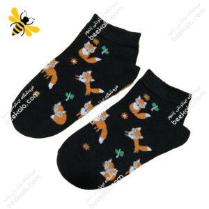 جوراب مچی روباه مشکی کد ۱۱۷۰